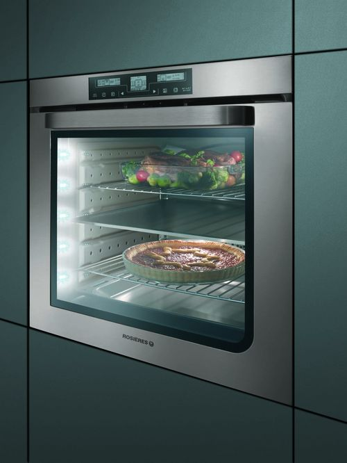 Rosieres rfa98fin un excellent four encastrable familial - Four encastrable gaggenau porte laterale ...